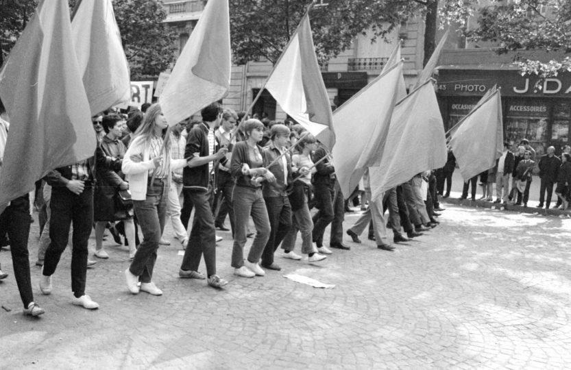 photo de Mai 68 de Michel Baron