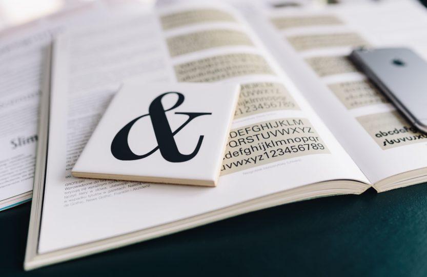 taper ses textes typographie