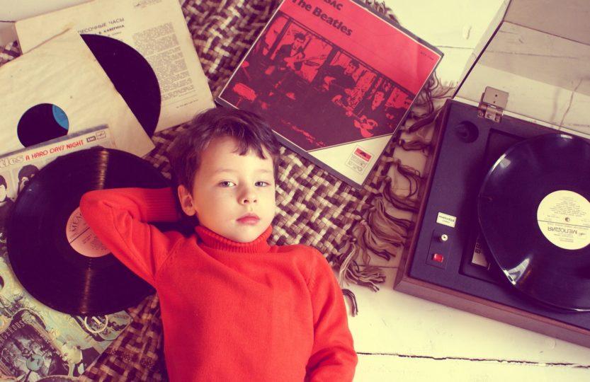 des vinyles plutôt qu'internet pour écouter de la musique