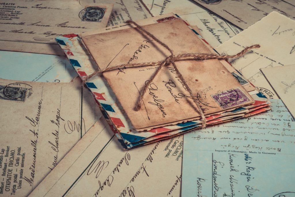 Pile de lettres