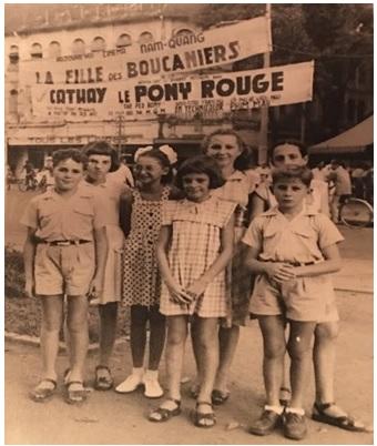 enfants à Saigon fin années 1940