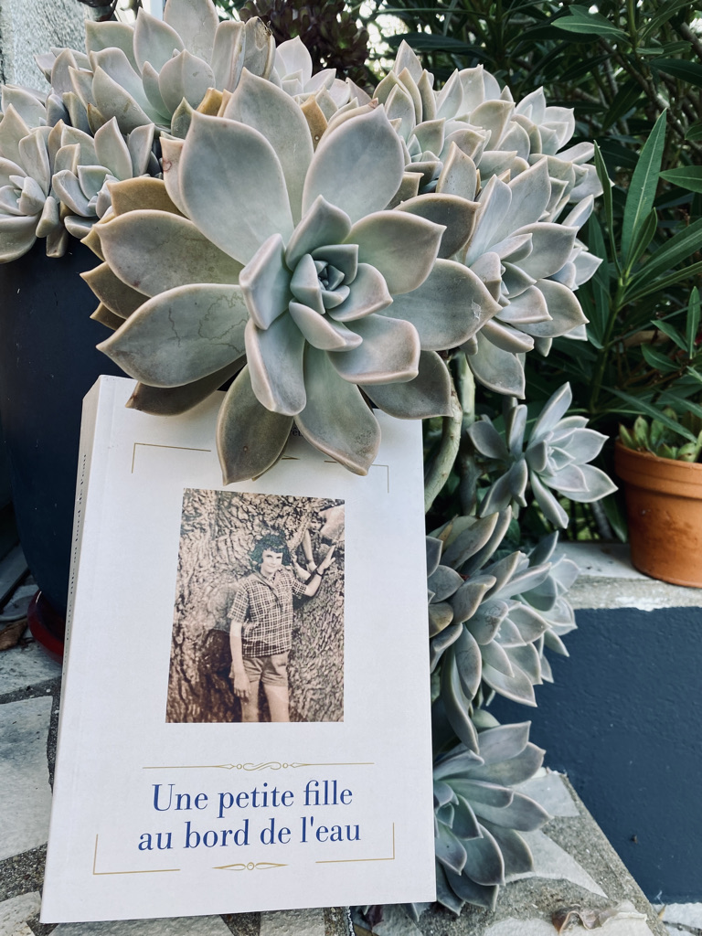 """le livre de Michèle """"Une petite fille au bord de l'eau"""""""