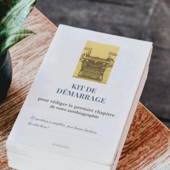 kit de demurrage pour écrire son premier chapitre